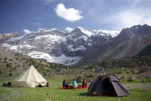 L'Ouzbékistan offre des terrains de trekking avec des vues remarquables. http://www.journaldutrek.com/ouzbakistan-tadjikistan-sentiers-oublias-du-pamir-et-route-lagendaire-de-samarkand-576/