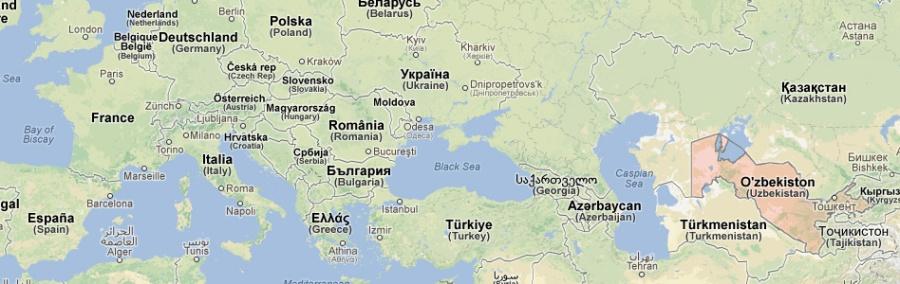 De la France à l'Ouzbékistan