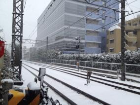 Rails de la Seibu Shinjuku Line