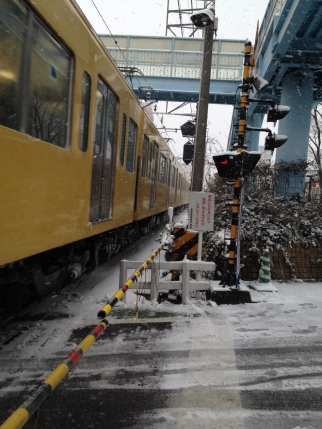 Sous la neige - Seibu Shinjuku Line