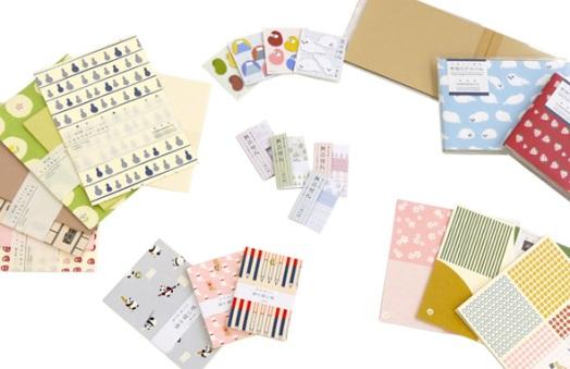 Écrire des lettres tient encore de l'art au Japon, où cela se fait encore beaucoup ! http://www.hamamonyo.jp/products/stationery.html