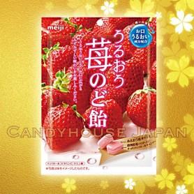 Bonbons à la fraise Meiji