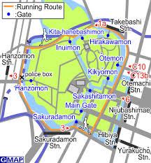 Parcours de jogging autour du Palais impérial
