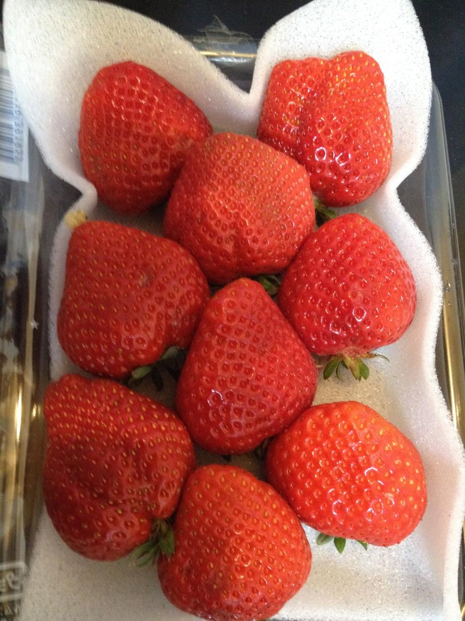 Barquette de fraises - Japon