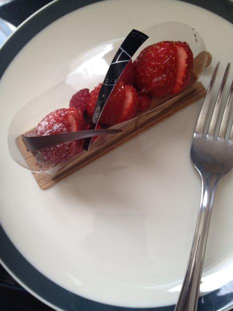 Tarte fraise - chocolat