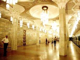 Station de métro de Tachkent - http://group1d-ielte2010-11.wikispaces.com/Tashkent+underground