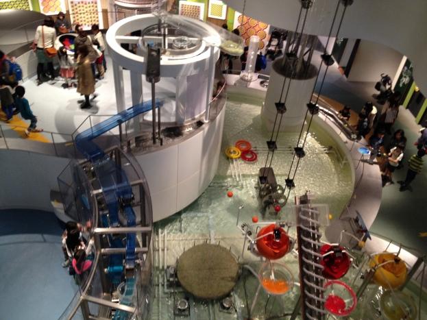 Univers aquatique (premier étage du musée)