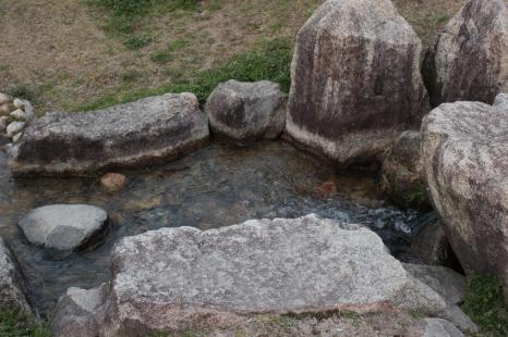 Petite rivière artificielle, parc Ena