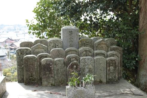 Tombes - cimetière josei ji yamabochi