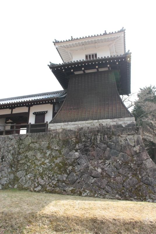 Ruines du château d'Iwamura - Taiko Yagura