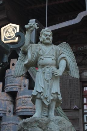 Tengu, un dieu gardien du temple bouddhiste