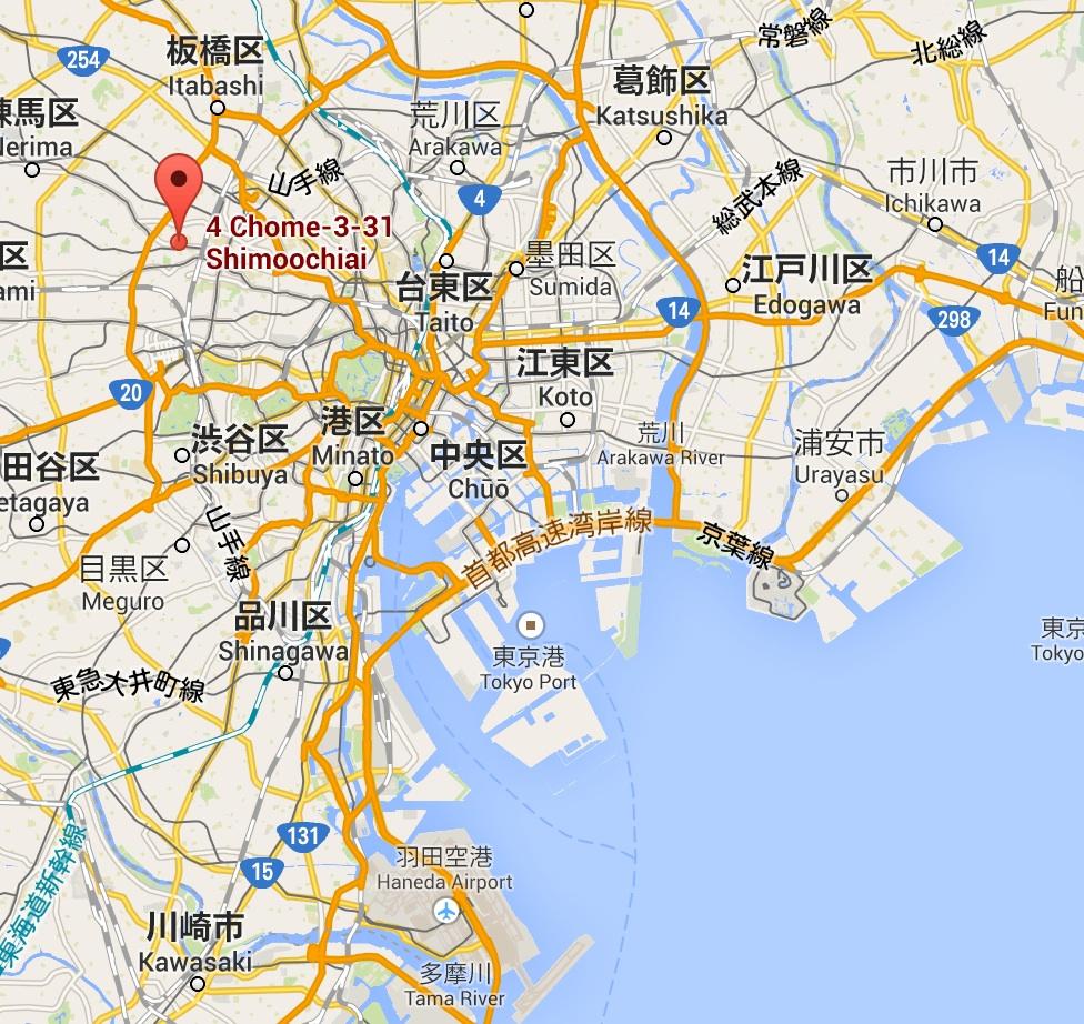 mon premier appartement japonais un studio takadanobaba amelie marie in tokyo. Black Bedroom Furniture Sets. Home Design Ideas