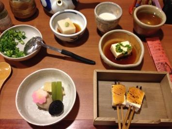 Les restaurants dédiés au tofu sont mon paradis. Salé, sucré et découverte du palais !
