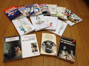 Des livres pour moins de 0,80€ ? C'est possible. Du manga au bouquin de poche, des magazines aux manuels, on peut trouver de tout en occasion avec des prix démarrant à 108yens.