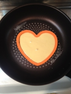 En forme de coeur, la plus facile !