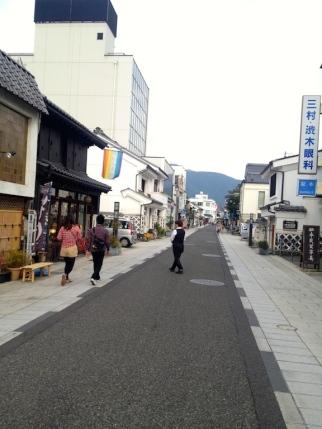 Vieille rue de Matsumoto