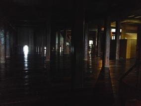 À l'intérieur du chateau