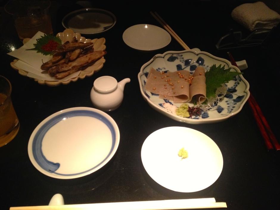 sashimi soba