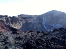 Le cratère du volcan endormi !
